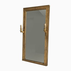 Antique Bronze Empire Mirror
