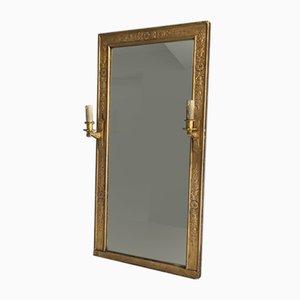 Specchio imperiale antico in bronzo