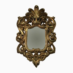 Italian Gild Wood Mirror, 1920s