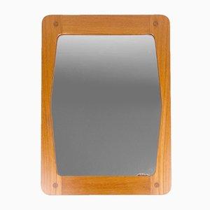 Teak Mirror by Hans-Agne Jakobsson, 1960s
