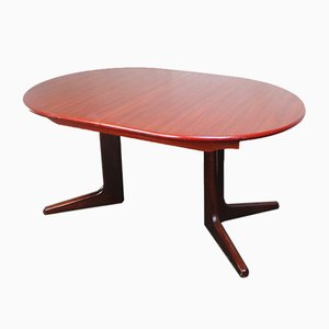 Danish Large Extendable Dining Table from Skovby, 1970s