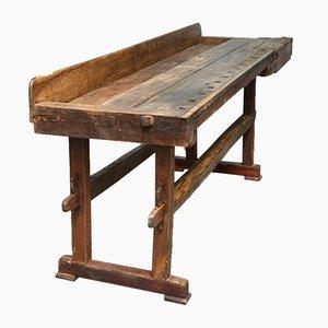 Tavolo da lavoro, fine XIX secolo