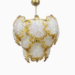 Mid-Century Murano Glass Chandelier