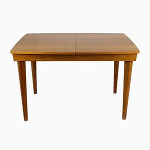 Oak Veneered Folding Dining Table from UP Zavody, 1960s