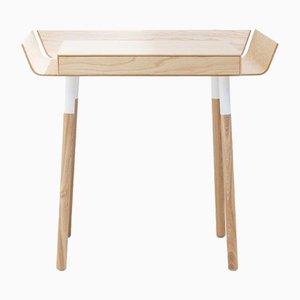 Scrivania piccola My Writing Desk in legno di frassino di etc.etc. per Emko