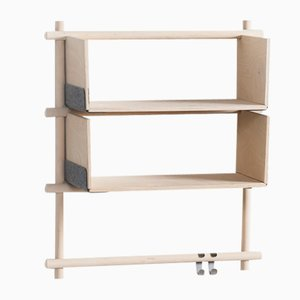 Folding Shelving Unit 13+2 with 2 hooks by etc.etc. for Emko