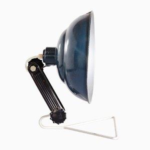 Industrielle Vintage Bakelit Lampe, 1950er