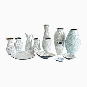 Ceramiche Cortina di Jasba, anni '50, set di 13