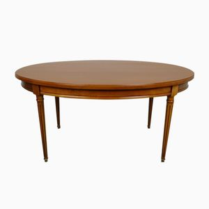 French Cherrywood Coffee Table, 1970s