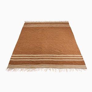 Vintage Kamel Haar Teppich