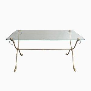 Petite Table Basse à Têtes de Cygne de Maison Jansen, 1940s