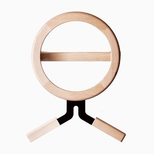 Modo Metall und Holz Haken von Artful casacontemporanea
