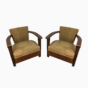 Art Deco Armchairs, 1930s, Set of 2
