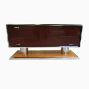 Chromed Space Age Sideboard, 1970s