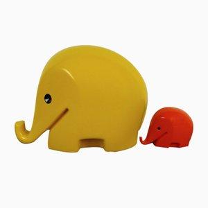Huchas Dumbo de Luigi Colani, años 70. Juego de 2