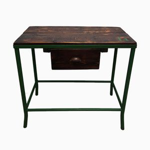 Vintage Industrial Worktable, 1950s
