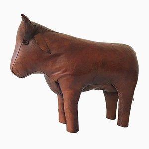 Sgabello Mid-Century a forma di toro di Dimitri Omersa, anni '60