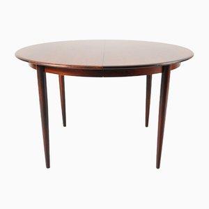 Tavolo da pranzo allungabile di Arne Vodder per Sibast, Danimarca, anni '60