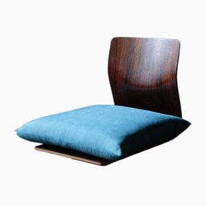 Zaisu Chair by Kenji Fujimori for Tendo Mokko, 1970s