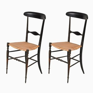 Italian Campanino Classica Chiavari Chairs from Fratelli Levaggi, Set of 2