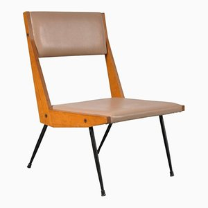 Italian Easy Chair by Carlo de Carli, 1950s