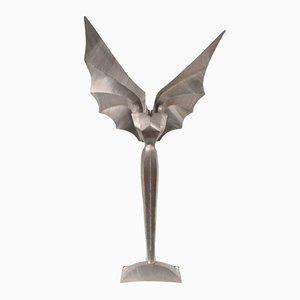 Lampada da terra Engel scultorea di Reinhard Stubenrauch, 1990