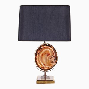 Agate Table Lamp, 1970s