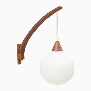 Lampada da parete di Uno & Östen Kristiansson per Luxus, anni '50