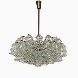 Lámpara de araña Pagoda austriaca de J.T. Kalmar para Franken KG, años 60