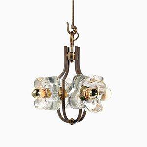 Italian Brutalist Ceiling Lamp, 1960s
