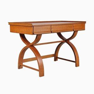 Niederländischer Eichenholz Schreibtisch, 1940er