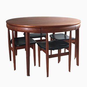 Vintage Scandinavian Teak Dining Set by Hans Olsen for Frem Røjle