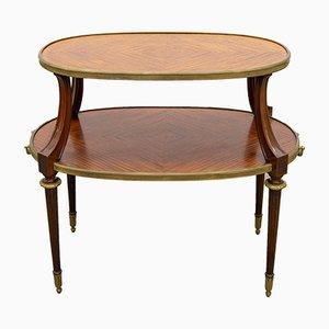 Table Basse à 2 Plateaux en Bronze, 1850s