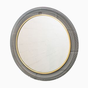 Circular Wire Wall Mirror, 1960s