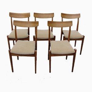 Chaises de Salle à Manger Modèle 200-206 de Fabryka Mebli Giętych, Pologne, 1960s, Set de 5