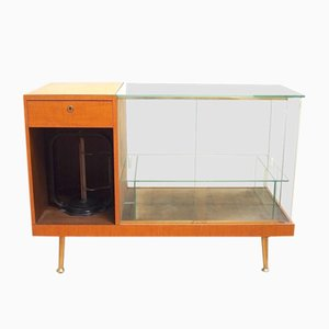 Vintage Sideboard with Glass Case From wRu, 1957