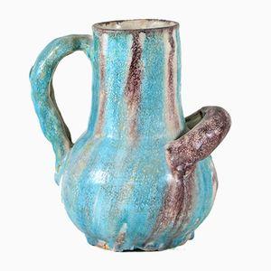 Jarrón de cerámica de Avallone Vietri, años 20