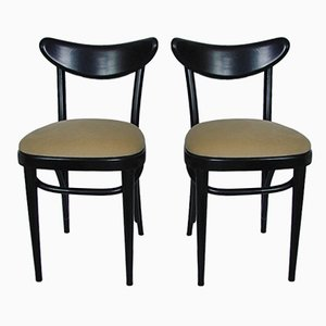 Chaises d'Appoint Modernistes, 1940s, Set de 2