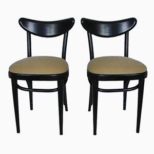 Modernistische Stühle, 1940er, 2er Set