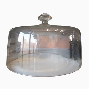 Antique Glass Cake Dome