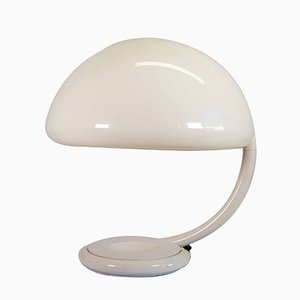 Lampe Modèle Serpente Blanche par Elio Martinelli pour Martinelli Luce, 1960s