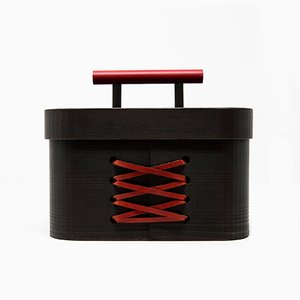 Blackbeauty Hinoki Cypress Jewellery Box by Sonia Pedrazzini for Hands On Design