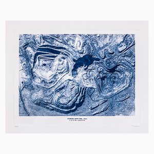 Copper Mine Etching Print No. 1 by David Derksen, 2018