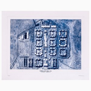 Copper Mine Etching Print No. 4 by David Derksen, 2018