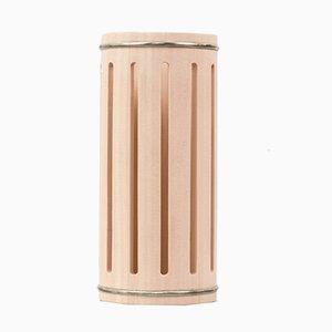 Hohe Stilio Hinoki Cypress Vase von Buzzo-Lambertoni für Hands on Design