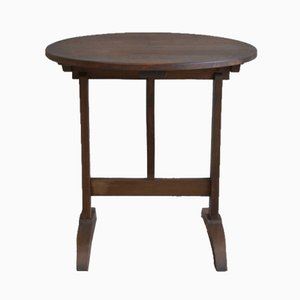 Table Basse Antique Marron Foncé