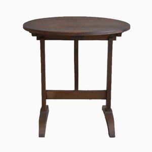 Tavolino da caffè antico marrone scuro