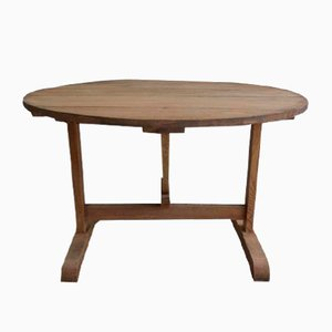 Antique French Wine Tasting Table