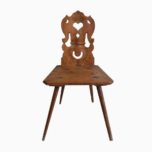Vintage French Rustic Chair