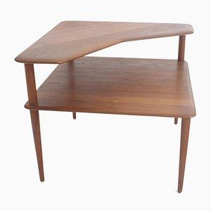 Table Minerva par Peter Hvidt & Orla Molgaard-Nielsen pour France & Daverkosen, 1950s